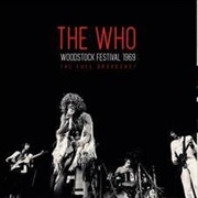 WHO - WOODSTOCK FESTIVAL 1969 (2LP)