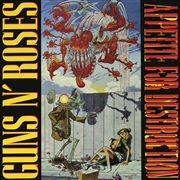 GUNS N' ROSES - APPETITE FOR DESTRUCTION (ALT. COVER) (JIGSAW PUZZLE)