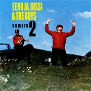 EERO JA JUSSI & THE BOYS - NUMERO 2 + SINGLET 1966-1969 (2LP)