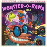 VARIOUS - MONSTER-O-RAMA, VOL. 2 (+CD)