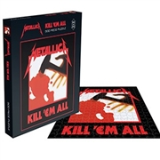 METALLICA - KILL 'EM ALL (JIGSAW PUZZLE)