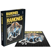 RAMONES - ROAD TO RUIN (JIGSAW PUZZLE)