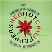 RED HOT CHILI PEPPERS - LIVE: LAKEWOOD, OH 21ST NOV. '89/DEL MAR, CA...