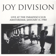 JOY DIVISION - (WHITE) LIVE AT THE PARADISO CLUB 1980