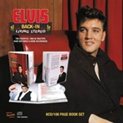 PRESLEY, ELVIS - BACK-IN LIVING STEREO (6CD+BOOK)