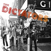 DICTATORS - LIVE AT CBGB, NYC, MAY 11, 1977