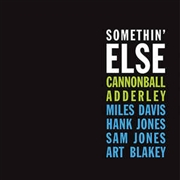 ADDERLEY, CANNONBALL - SOMETHIN' ELSE (BLUE)