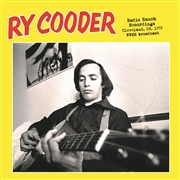 COODER, RY - RADIO RANCH RECORDINGS