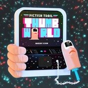 PICTISH TRAIL - THUMB WORLD (PINK)