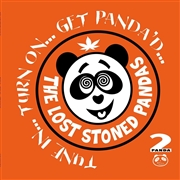 LOST STONED PANDAS - (YELLOW/ORANGE) TUNE IN... TURN ON... GET PANDA'D (2LP)
