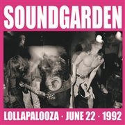 SOUNDGARDEN - LOLLAPALOOZA, JUNE 22, 1992