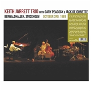 JARRETT, KEITH -TRIO- - BERWARDHALLEN, STOCKHOLM, OCT. 3RD, 1989 (2LP)
