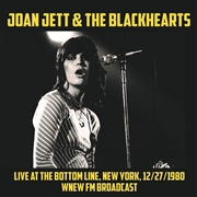 JETT, JOAN -& THE BLACKHEARTS- - LIVE AT THE BOTTOM LINE, NEW YORK, 12/27/1980