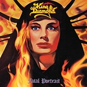 KING DIAMOND - FATAL PORTRAIT (BLACK)