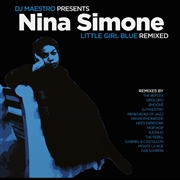SIMONE, NINA/DJ MAESTRO - LITTLE GIRL BLUE REMIXED (2LP)