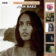 BAEZ, JOAN - TIMELESS CLASSIC ALBUMS (5CD)