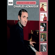 AZNAVOUR, CHARLES - TIMELESS CLASSIC ALBUMS (5CD)