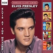 PRESLEY, ELVIS - TIMELESS CLASSIC ALBUMS: AT THE MOVIES (5CD)