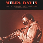 DAVIS, MILES - LIVE AT THE FILLMORE WEST AUDITORIUM 1970 (2LP)