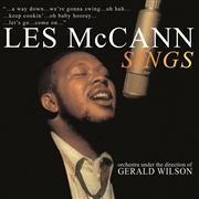 MCCANN, LES - SINGS (ORCHESTRA ARRANGED & DIRECTED BY GERALD WILSON)