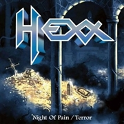 HEXX - (BLUE) NIGHT OF PAIN/TERROR