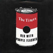 TIMES - RED WITH PURPLE FLASHES/BIFF! BANG! POW!