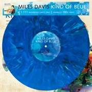 DAVIS, MILES - KIND OF BLUE (BLUE MARBLE)