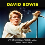 BOWIE, DAVID - LIVE AT NHK HALL, TOKYO, JAPAN 12TH DEC. 1978