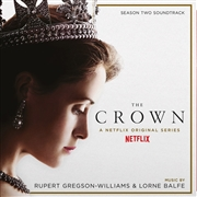 GREGSON-WILLIAMS, RUPERT - THE CROWN SEASON 2 O.S.T. (2LP)