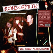 ICONS OF FILTH - (BLACK) NOT ON HER MAJESTY'S SERVICE