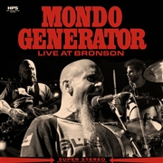 MONDO GENERATOR - (WHITE/RED/BLACK) LIVE AT BRONSON