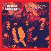 BLACK SABBATH - PARANOID TOUR 1970